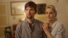 Adam Scott, left, and Taylor Schilling, are shown in a scene from the film, 'The Overnight.' (John Guleserian / The Orchard)