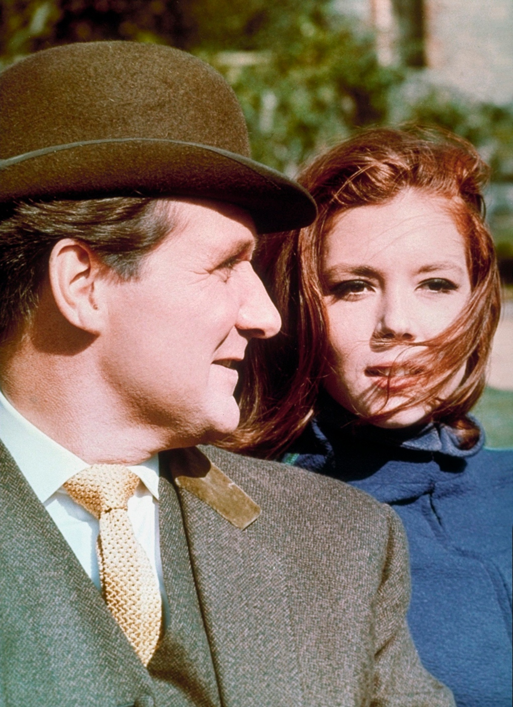 Scene from 1960 series 'The Avengers'