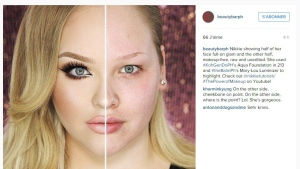 "YouTube beauty hit Nikkie Tutorials caused an online sensation with her video ""The Power of MAKEUP!"" (Nikkie Tutorials / Instagram)"