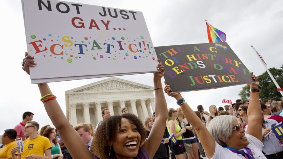U.S. Supreme Court rules on same-sex marriage