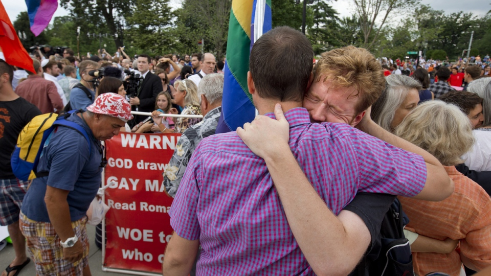 LGBT advocates react to same-sex marriage ruling