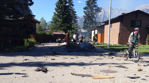 Canmore explosion