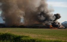 Abbotsford barn fire