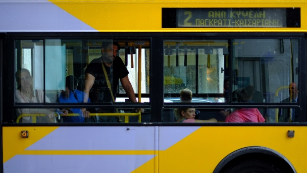 Free transport in Athens amid debt crisis