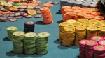 Stacks of gambling chips on a roulette table at the Tropicana Casino and Resort in Atlantic City N.J. on April 17, 2015. (AP / Wayne Parry)