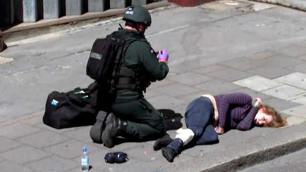 British police counter-terror exercise