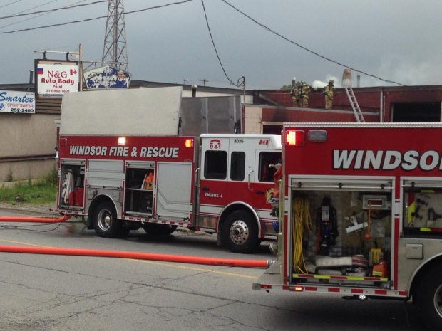 Crawford Ave fire