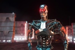 "This photo provided by Paramount Pictures shows, Series T-800 Robot, in ""Terminator Genisys,"" from Paramount Pictures and Skydance Productions. (Melinda Sue Gordon/Paramount Pictures via AP)"