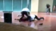 Teen beaten by mall security officers