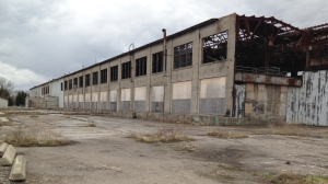 The abandoned Cooper site in Stratford is seen on Wednesday, April 22, 2015. (David Imrie / CTV Kitchener)