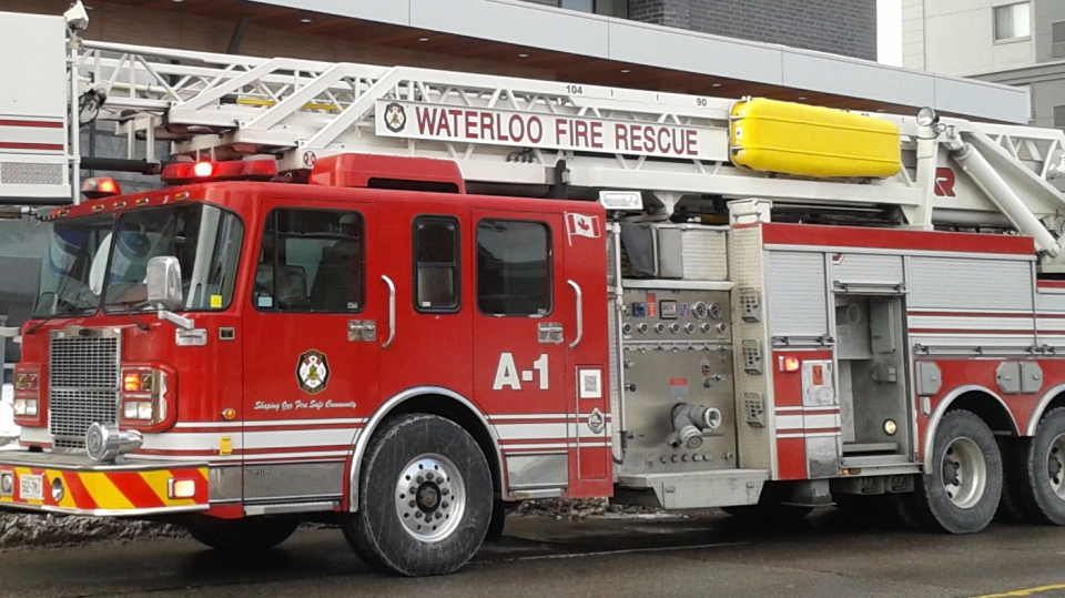 A Waterloo Fire Rescue truck is pictured in this file photo. (Terry Kelly / CTV Kitchener)