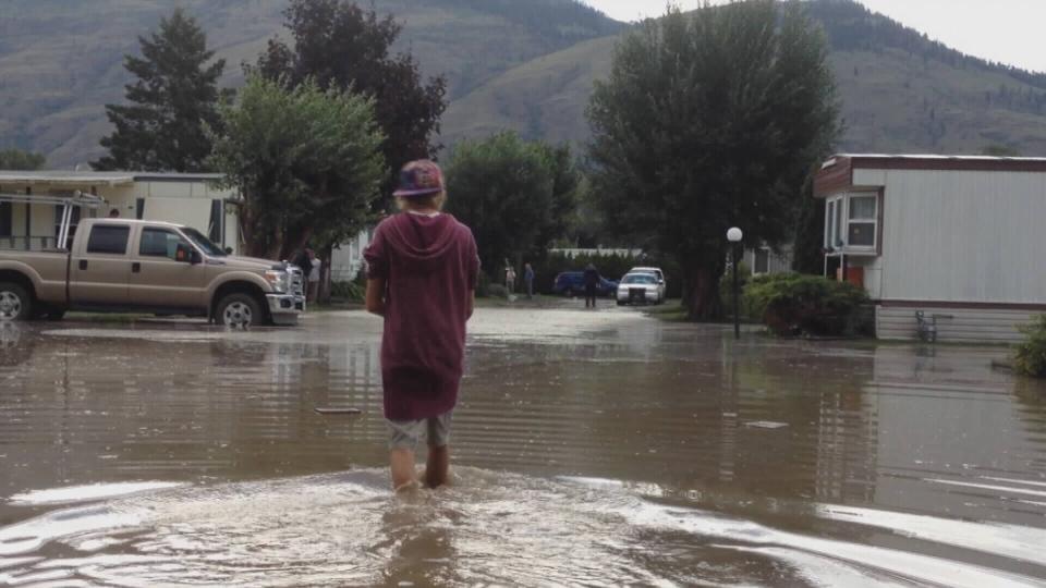 Flash Flood Forces Evacuations In Kamloops Ctv Vancouver