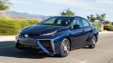 Toyota Mirai fuel cell car