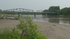 CTV Winnipeg: Dive unit searching the Red River