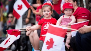 Canadians celebrate Canada Day