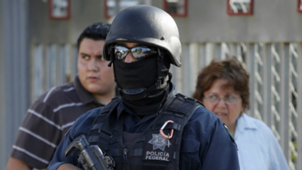 Police officer in Mexico