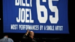 Billy Joel performs for a record 65th time at Madison Square Garden on Wednesday, July 1, 2015, in New York. (AP / Invision / Robert Altman)