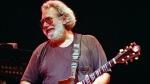Grateful Dead lead singer Jerry Garcia performs in Oakland, Calif. on Nov. 1, 1992. (AP / Kristy McDonald)