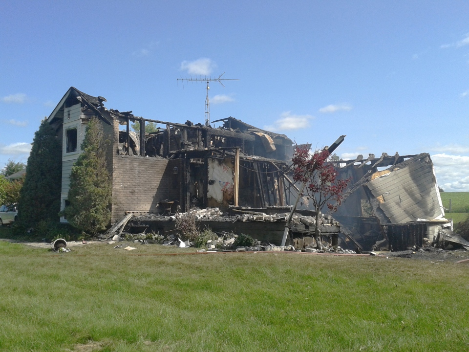 Brucedale fire 2