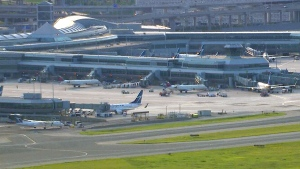 Toronto Pearson International Airport is shown in this file photo.