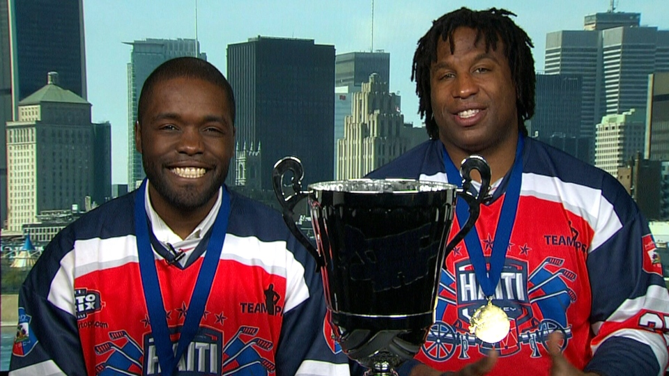Haiti S World Ball Hockey Champs Boast Strong Canadian