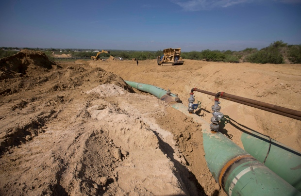Gas pipelines in Mexico