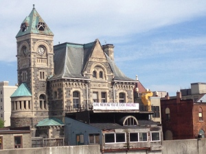 The former post office on Water Street in Cambridge is pictured on Friday, July 3, 2015. (Phil Molto / CTV Kitchener)