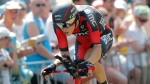 Rohan Dennis during the first stage of the Tour de France, on July 4, 2015. (AP / Christophe Ena)