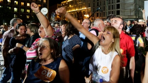 Greeks say 'No' to austerity measures in key referendum