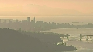 CTV Vancouver: Wildfire smoke prompts advisory