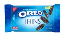 "This product image provided by Mondelez shows the packaging design for ""Oreo Thins."" (Mondelez)"