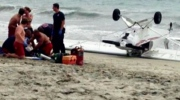 CTV News Channel: Plane crashes on crowded beach