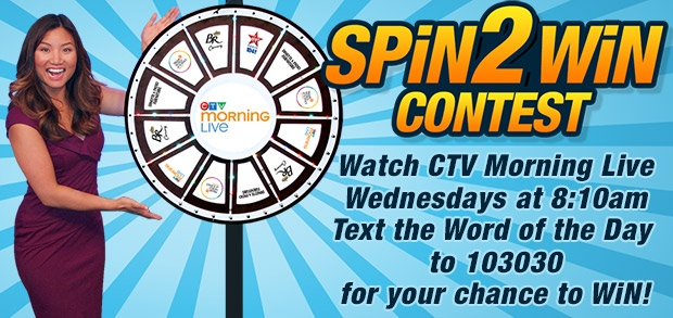 SPiN2WiN Contest - Official Rules and Regulations | CTV News