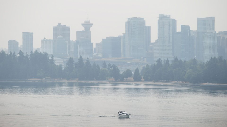Battle of Burrard Inlet of Burrard Inlet as Smoke