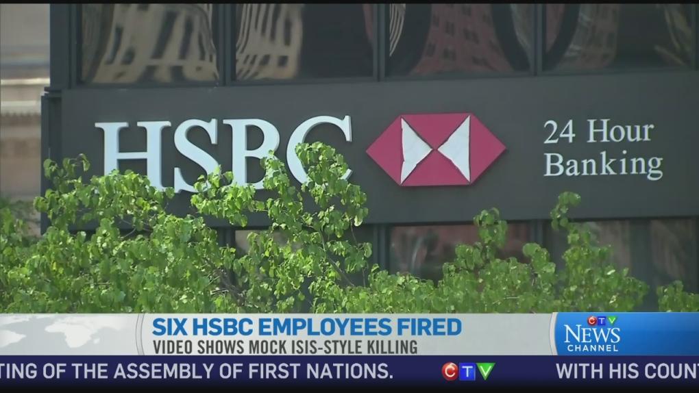 CTV News Channel: Six HSBC employees fired | CTV News Toronto