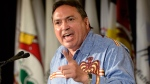 Assembly of First Nations national Chief Perry Bellegarde at the AFN's annual conference in Montreal, on July 7, 2015. (THE CANADIAN PRESS / Ryan Remiorz)