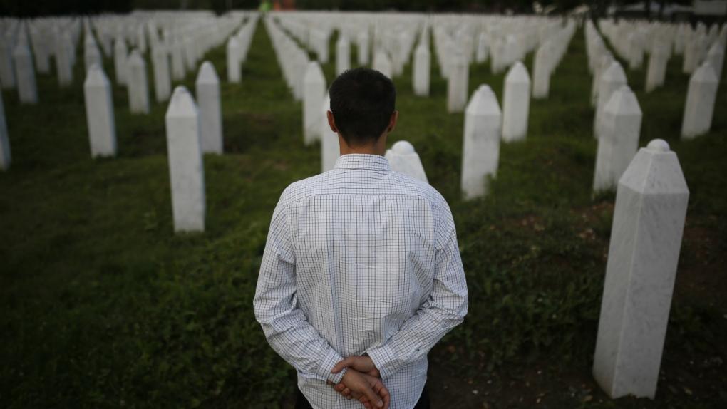 Srebrenica massacre survivor