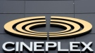 A Cineplex theatre is seen Friday May 22, 2015 in Ottawa. (Adrian Wyld / THe Canadian Press)