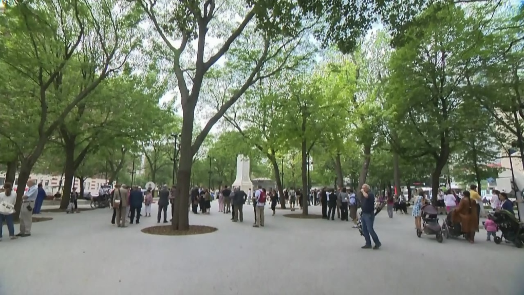 CTV Montreal: Cabot Square transformed