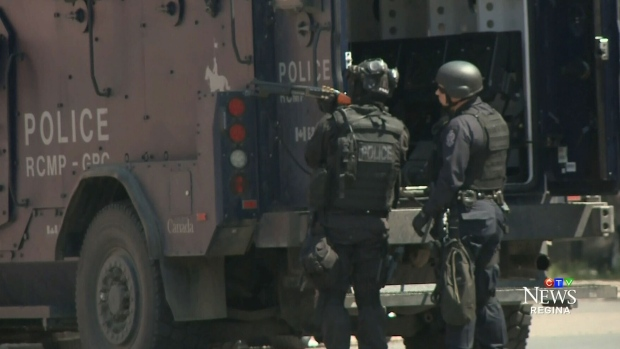 CTV Regina: SWAT team deployed