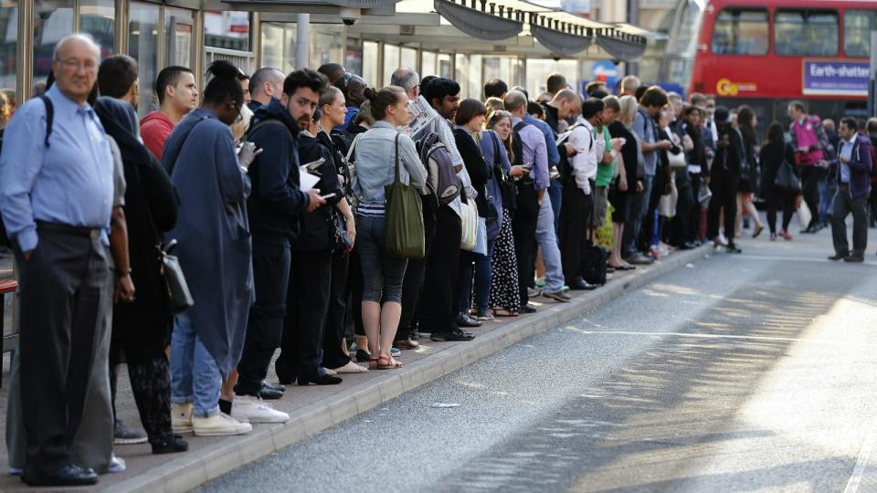 London subway goes on strike