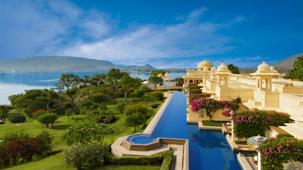 Palatial resort in India deemed best hotel in the world