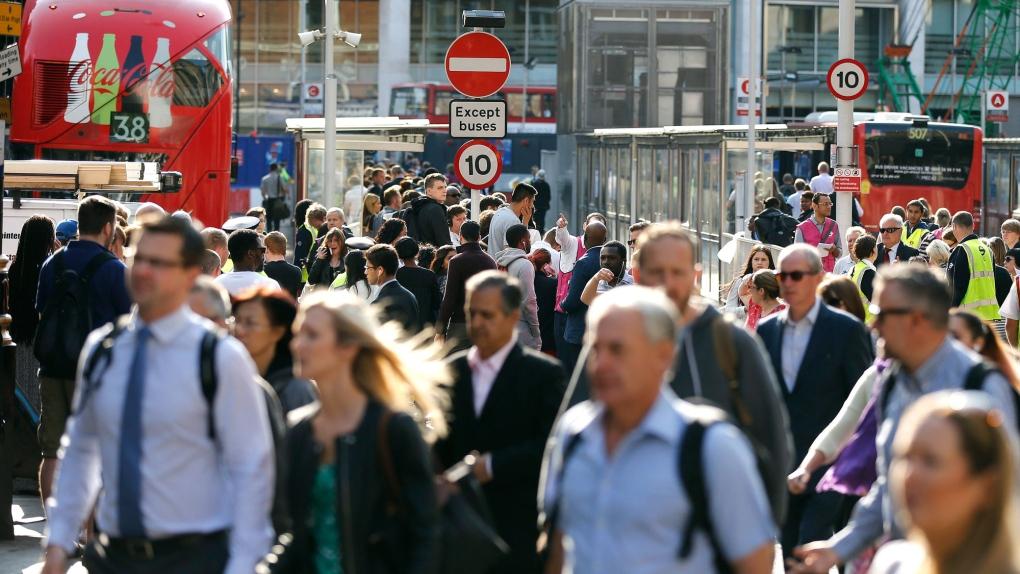 London transit gridlock