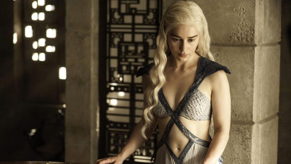 Emilia Clarke in HBO