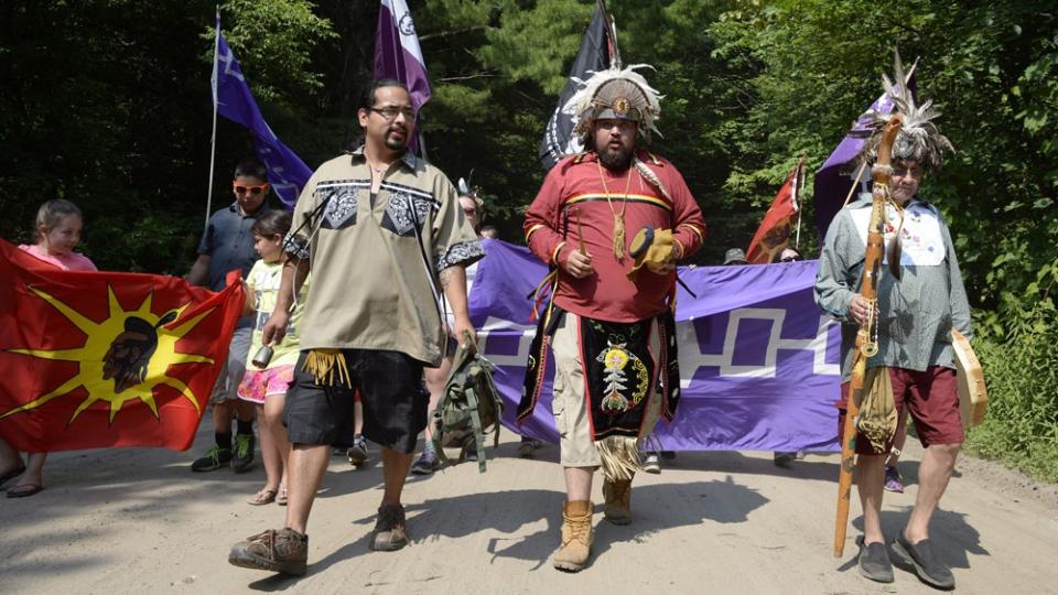 Mohawks from Kanesatake