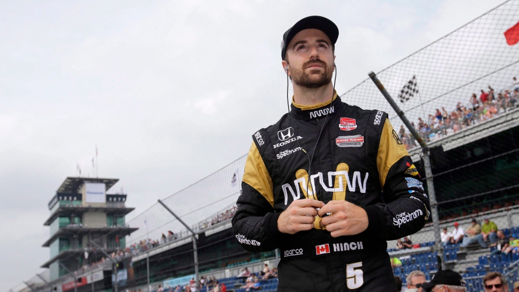 Canadian James Hinchcliffe crossing off items on his racing bucket list