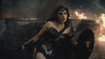 Actress Gal Gadot is shown as Wonder Woman in this still image from the trailer for 'Batman v. Superman: Dawn of Justice.' (YouTube / Warner Bros.)