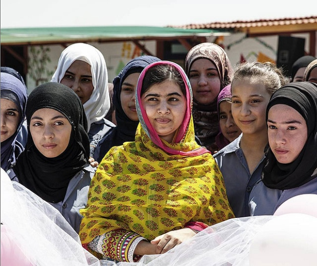 Malala celebrates 18th birthday by opening school for Syrian ...