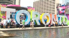 Toronto sign Pan Am Games