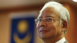 Former Malaysian Prime Minister Najib Razak pauses during a government event in Putrajaya, Malaysia on July 8, 2015. (AP / Vincent Thian)